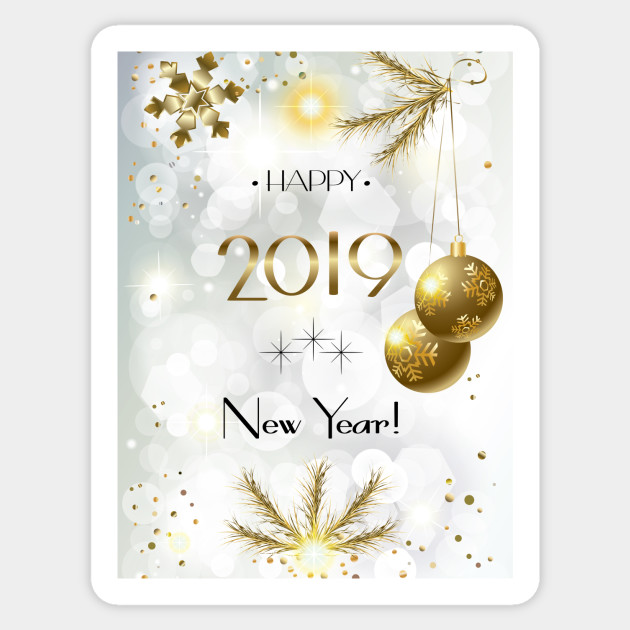 Happy New Year Greeting Card 13