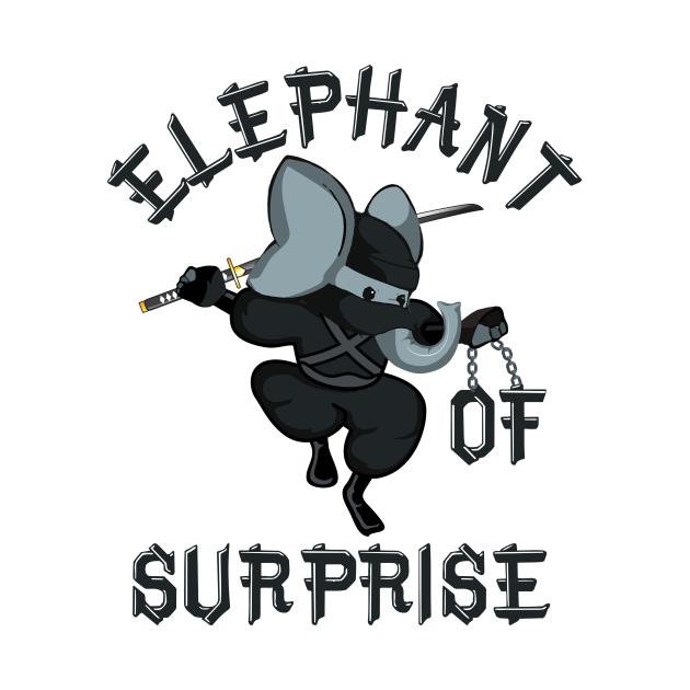 Elephant of Surprise | Funny Elephant Ninja Katana Kung Fu