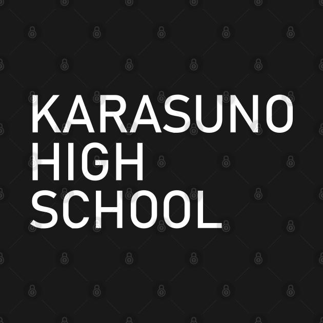 Haikyuu Karasuno High School Uniform