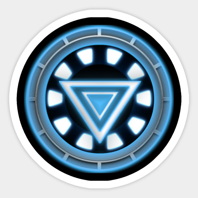 iron man logo - Iron Man - Sticker   TeePublic