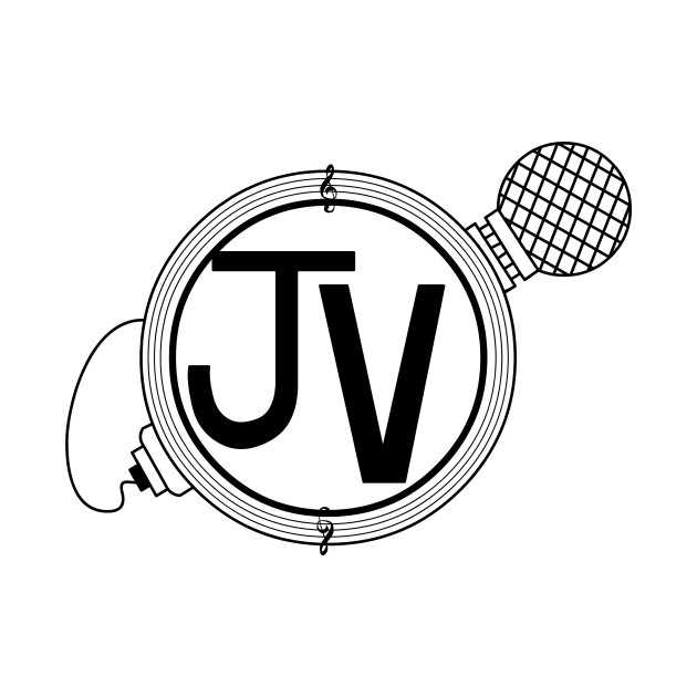 TheJohnnyVic Logo Black Clear Background by Lawrence n Sunset