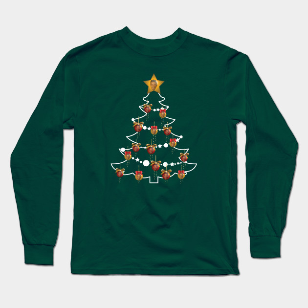 Will Smith Christmas Sweater.Will Smith Christmas Tree Baubles