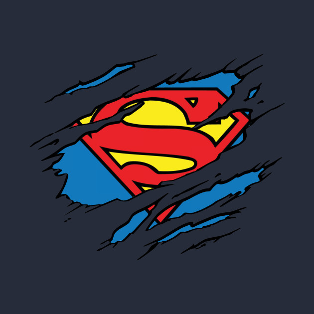 Superman Logo Ripped