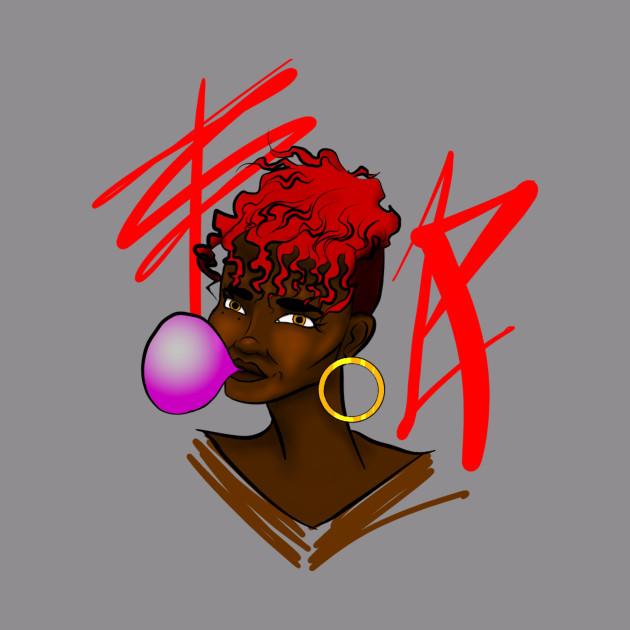 Bubble gum red