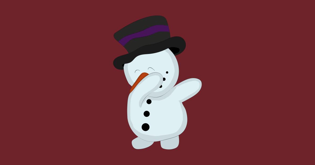 305d421c0ddb6 Funny Dabbing Snowman Santa Claus Reindeer Christmas Gift - Snowman ...