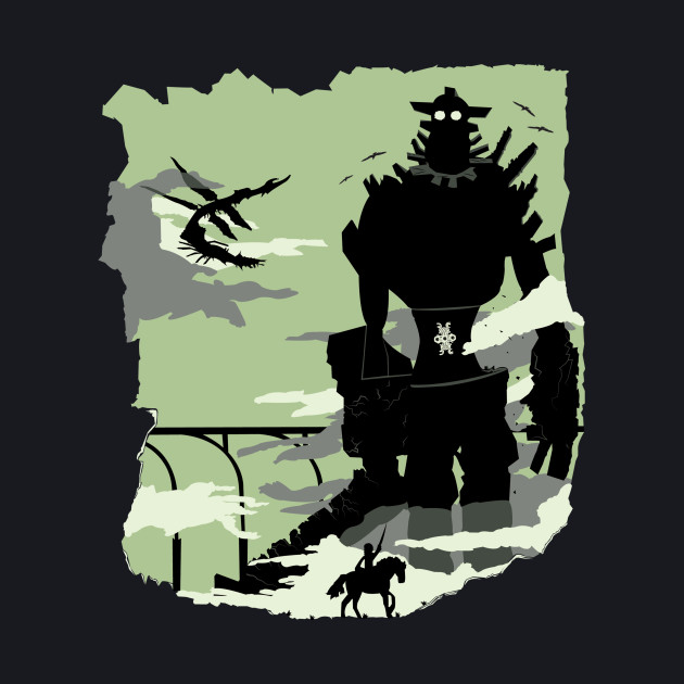 Silhouette of the Colossus