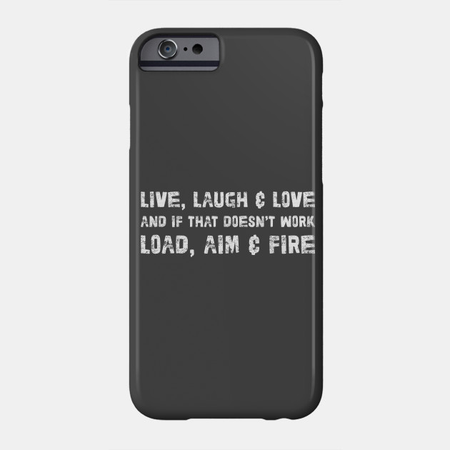 Live Laugh Love Funny Typographic Design