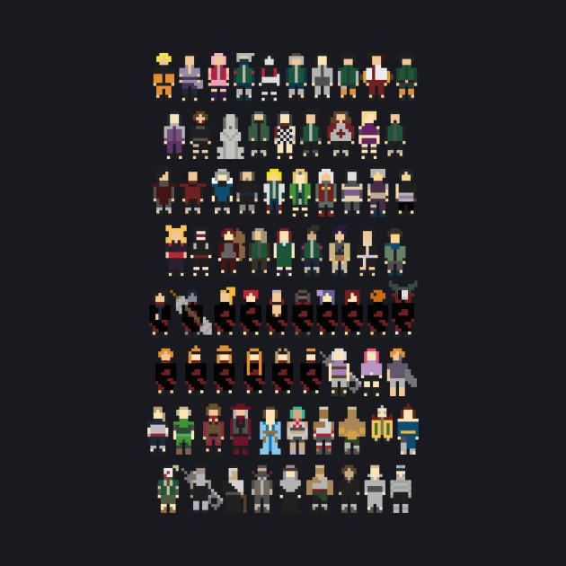 Naruto Pixels