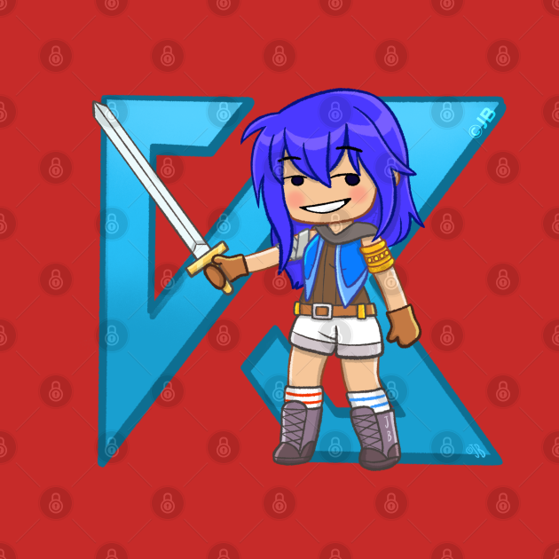 Gacha style Funneh with sword
