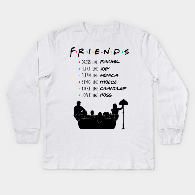 f2571e17a LIMITED EDITION - Friends Tv Show Quotes - Kids Long Sleeve T-Shirt ...