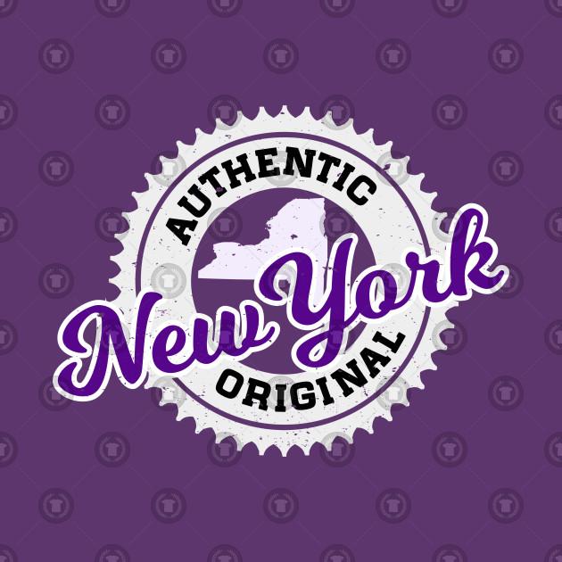 NEW YORK - AUTHENTIC ORIGINAL - NYU BOBCAT COLORS