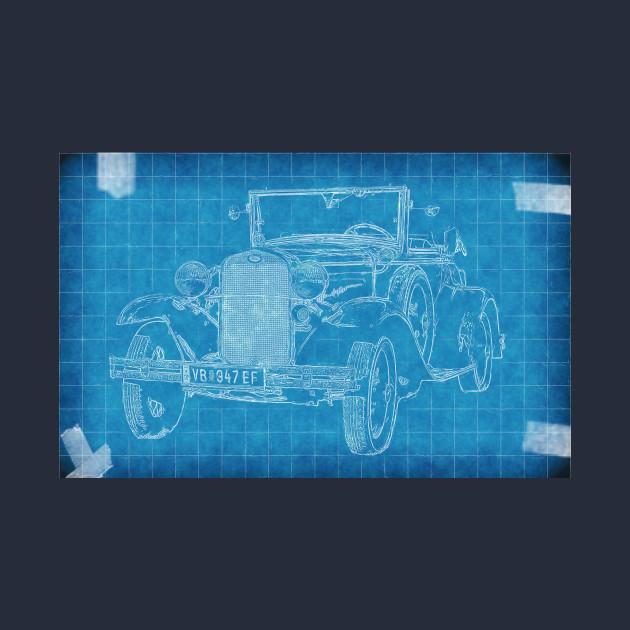 Old car blueprint car blueprint hoodie teepublic 2405643 0 malvernweather Images