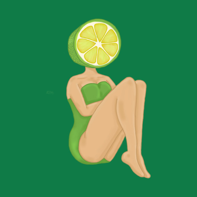 Lime Pin Up Girl