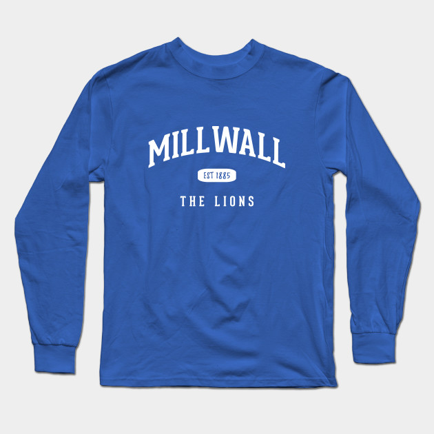 All About The Print Millwall Established in 1885 Premium Mens Sweatshirt