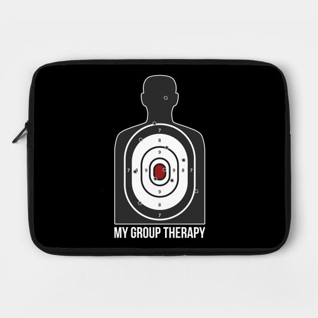 Group Therapy Shooting Range Funny Gun S