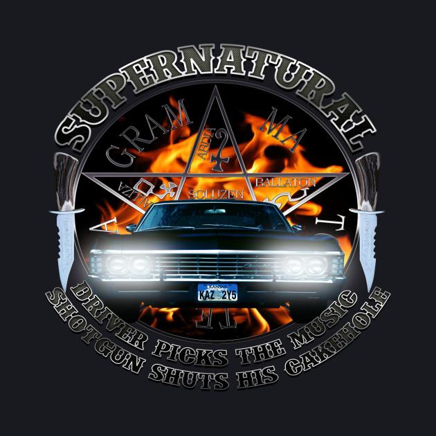 Supernatural Driver picks the music shotgun