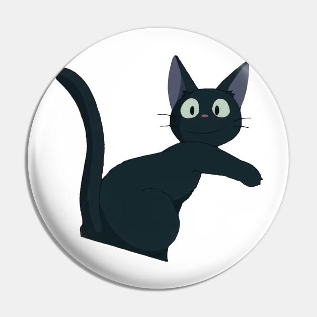 Kiki S Delivery Service Cat Kikis Delivery Service Pin Teepublic Au