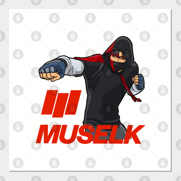 Muselk Punch Red