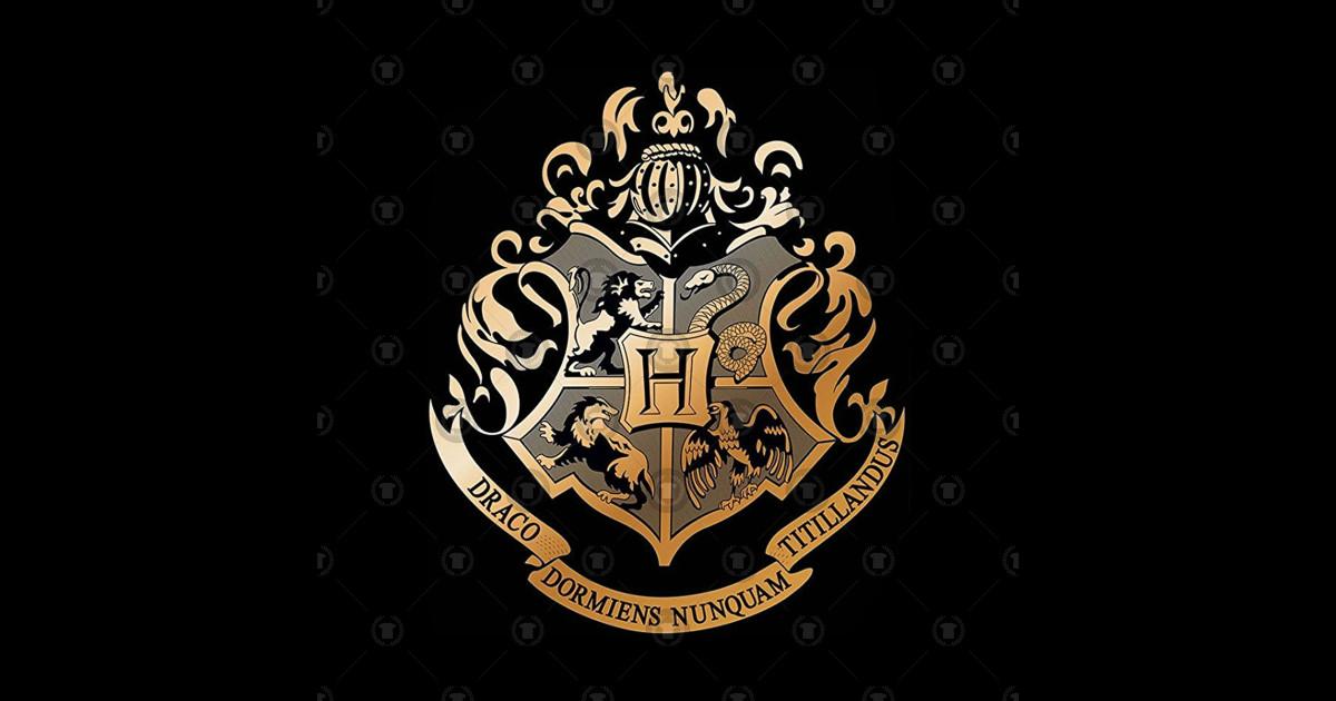 Hogwarts Logo Harry Potter Sticker Teepublic
