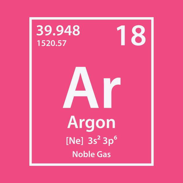 Argon Element Argon T Shirt Teepublic