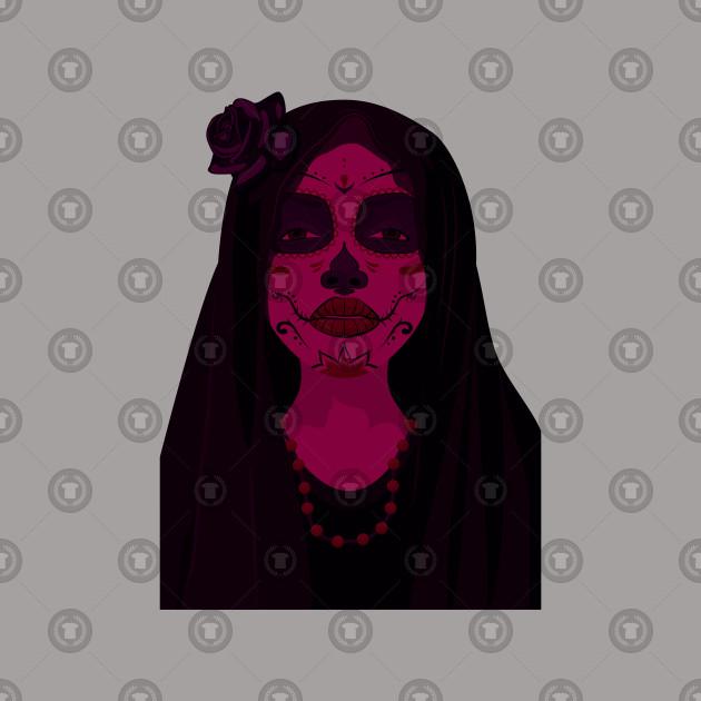 Day Of The Dead Girl Design
