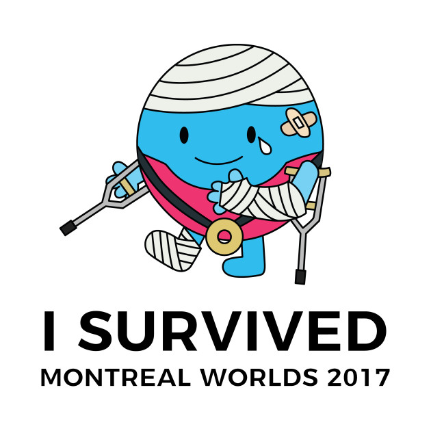 I SURVIVED MONTREAL
