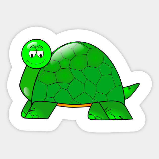 Cartoon T Shirt Turtle Shell Cartoon Sticker Teepublic Au
