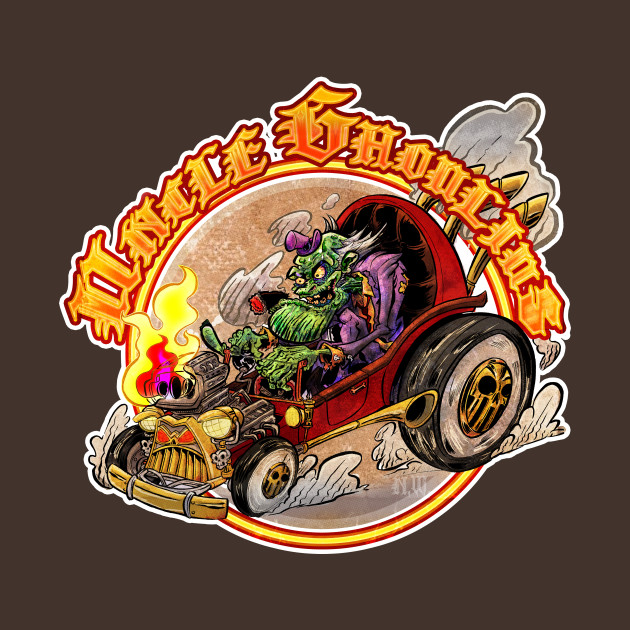 Uncle Ghoulius's Hot Rod Dragster