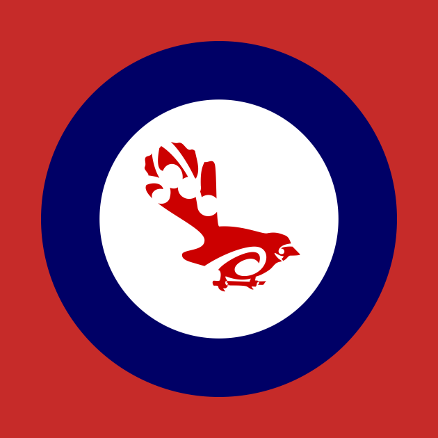 Fantail Air Force Roundel