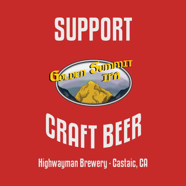 HMB Support Craft Beer: Golden Summit IPA