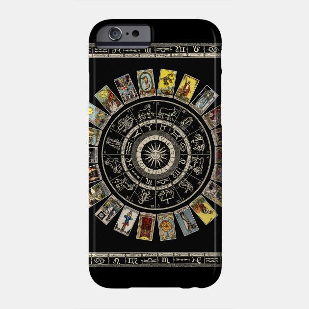 Astrology Wheel & Tarot Tapestry