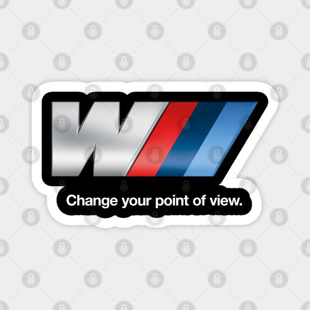 Bmw M Logo Bmw Magnet Teepublic