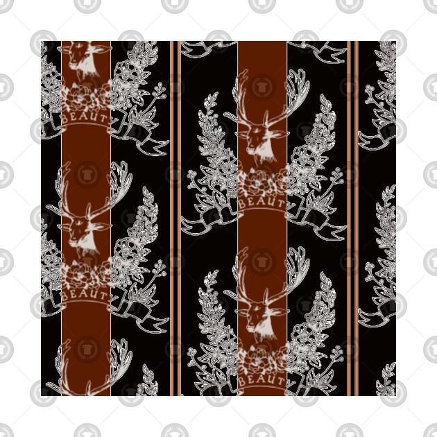 Heritage deer pattern