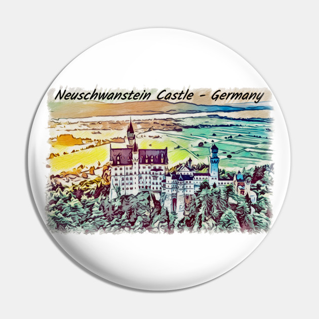 Neuschwanstein Castle Artwork