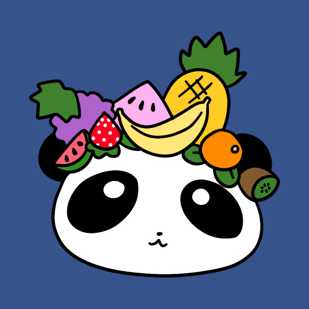 Fruit Panda Face