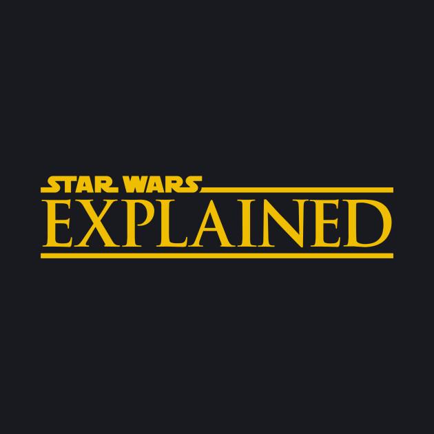 Star Wars Explained Yellow Logo