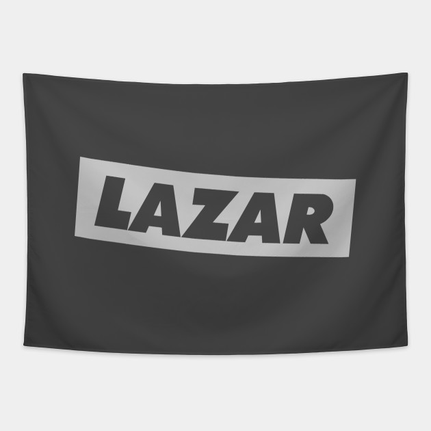 LazarBeam Logo Light Grey