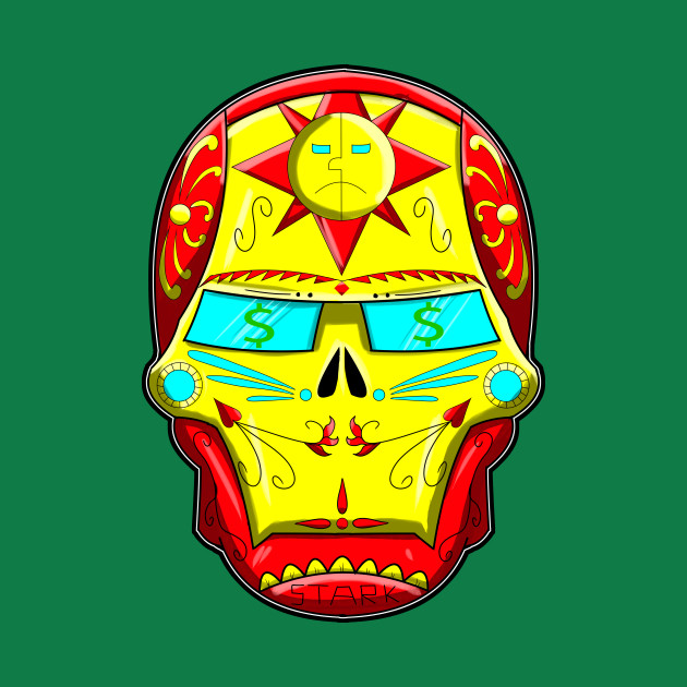 Ironman Sugar Skull