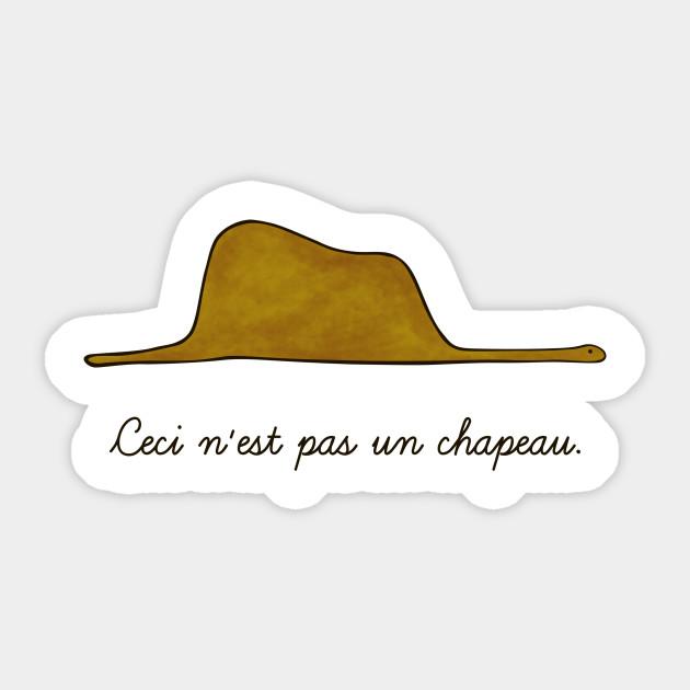 Un Chapeau Sticker