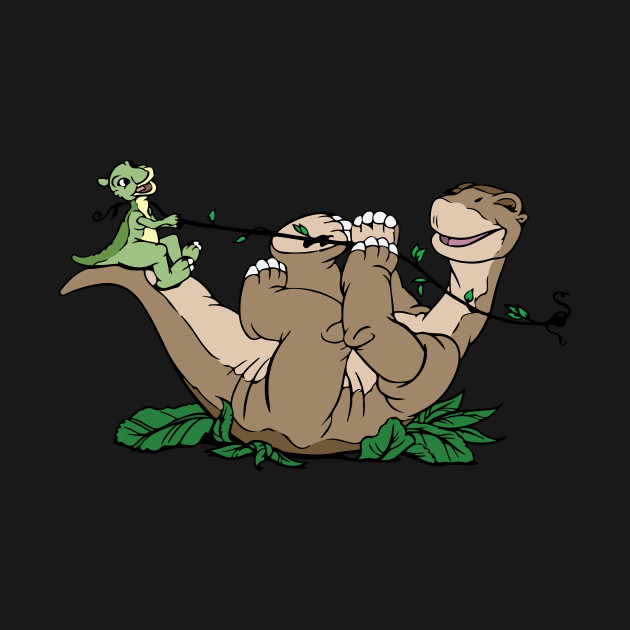 Little Foot and Ducky