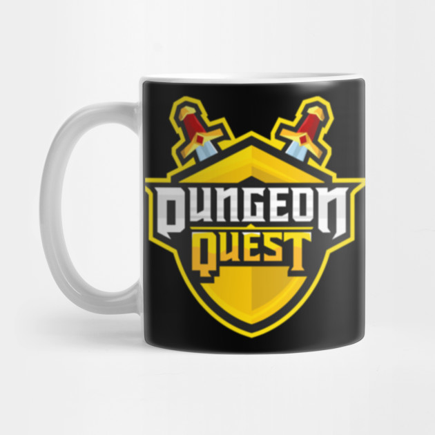 Dungeon Quest Roblox Roblox Mug Teepublic
