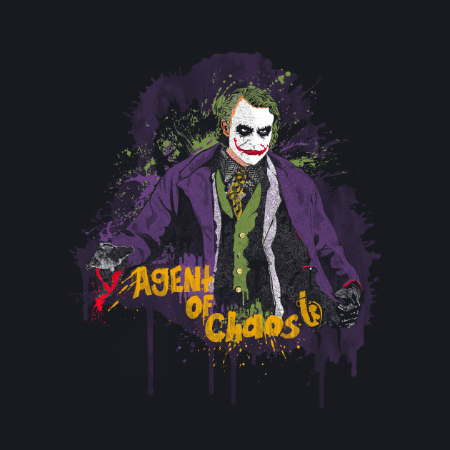 Agent Of Chaos - Black FC