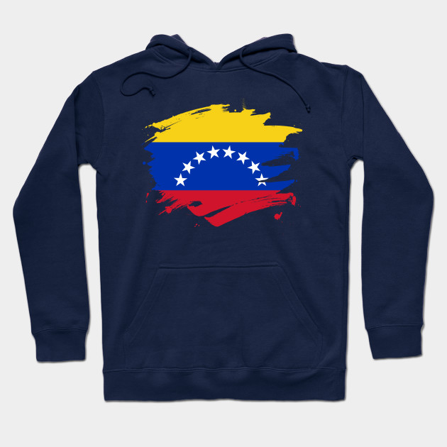 Venezuela Symbol Venezuelan Distressed Country From VEN Juniors V-Neck T-Shirt