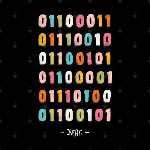 Create - binary code