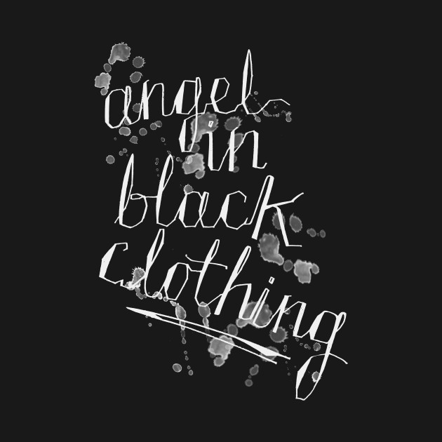 Angel In Black Clothing