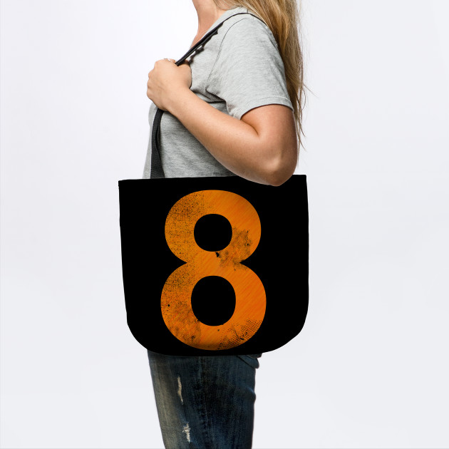'Basketball Lucky Number 8' Awesome Lucky Number Gift