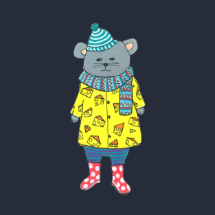 Mouse In A Cheese Sweater
