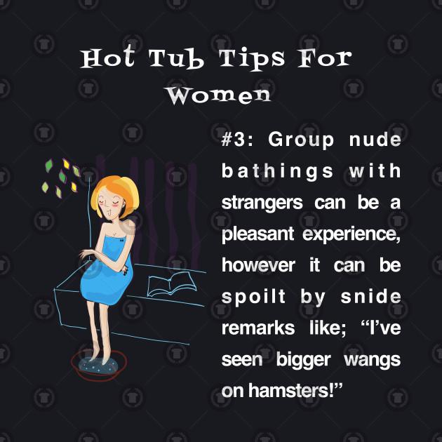 Hot Tub Tips for Women #3