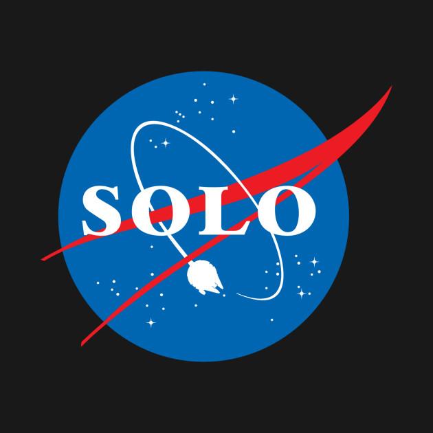 Han Solo NASA Star Wars Logo