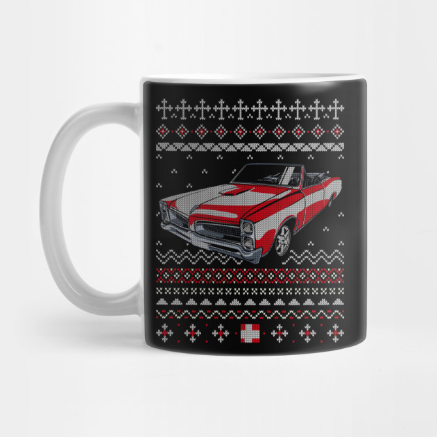 Muscle Car Lover Ugly Christmas Sweater